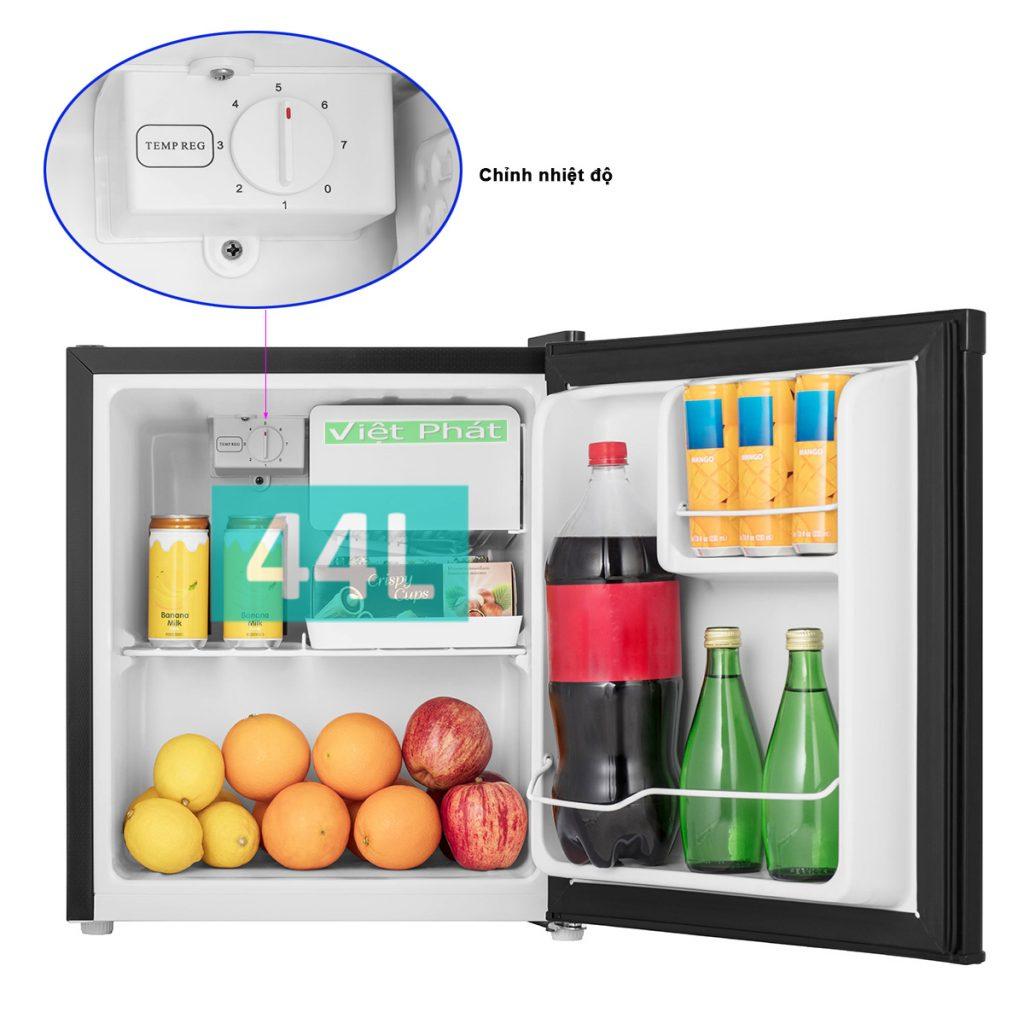 Tủ lạnh Casper RO-45PB 44L tùy chỉnh nhiệt độ