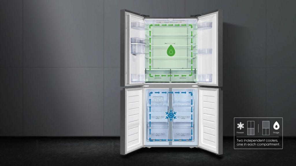 Tủ lạnh Casper RM-680VBW 2 dàn lạnh độc lập