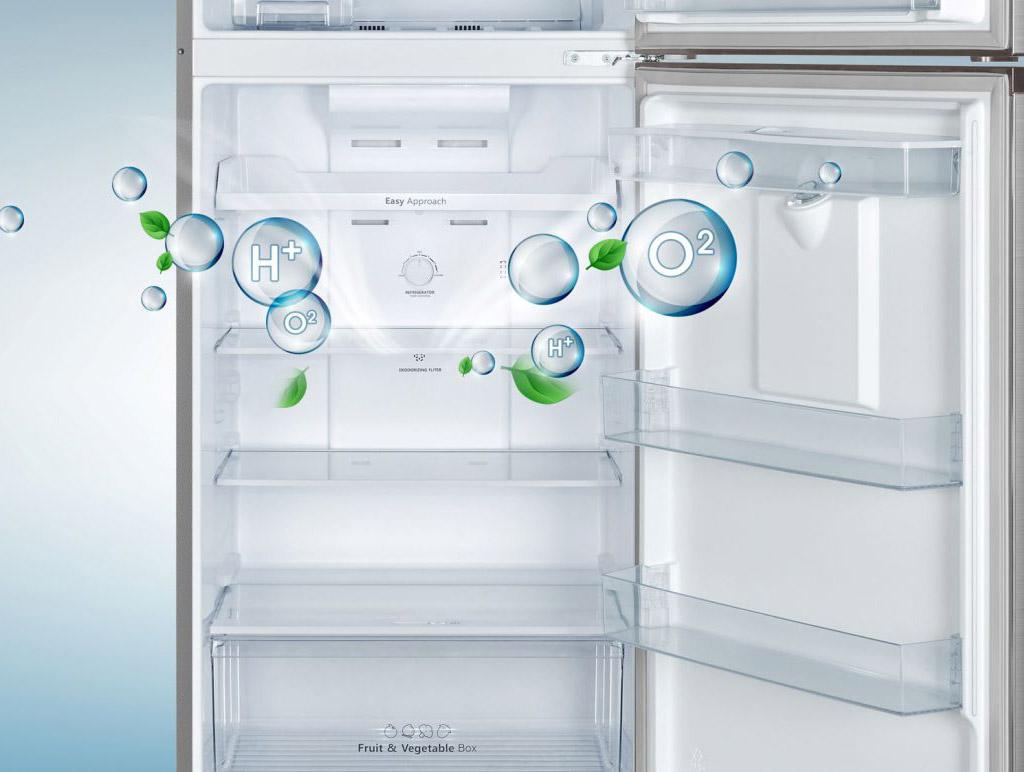 Tủ lạnh Casper RT-230PB lọc khử mùi than hoạt tính