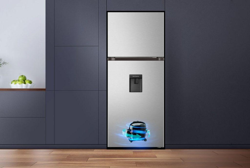 Tủ lạnh Casper RT-421VGW 404L động cơ Inverter tiết kiệm điện