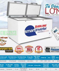 Tủ đông Darling DMF-1079ASI Inverter 1100L