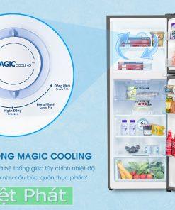 Tủ lạnh AQUA AQR-B388MA(FB) Inverter 350L ngăn đông mềm