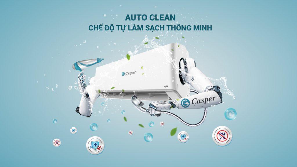 Điều hòa Casper KC-09FC32 công nghệ self cleaning