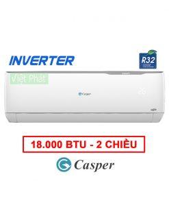 Điều hòa Casper 2 chiều Inverter 18000 BTU GH-18TL32