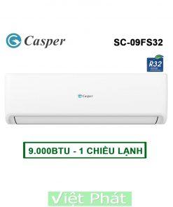 Điều hòa Casper SC-09FS32 9000BTU 1 chiều