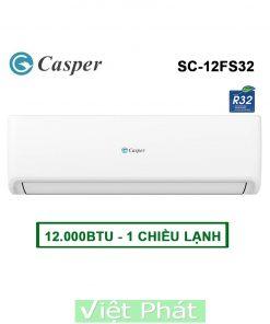 Điều hòa Casper SC-12FS32 12000BTU 1 chiều