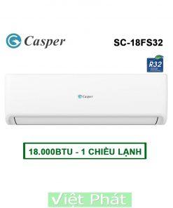 Điều hòa Casper SC-18FS32 18000BTU 1 chiều