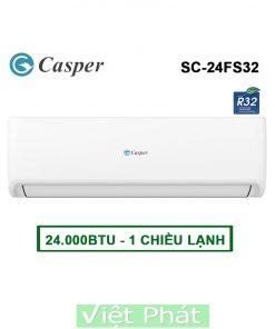 Điều hòa Casper SC-24FS32 24000BTU 1 chiều