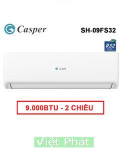 Điều hòa Casper SH-09FS32 9000BTU 2 chiều