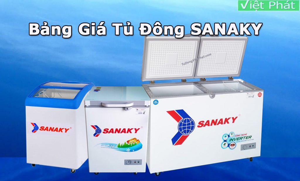 Tủ đông Sanaky giá bao nhiêu? Báo giá tủ đông Sanaky mới nhất 2021