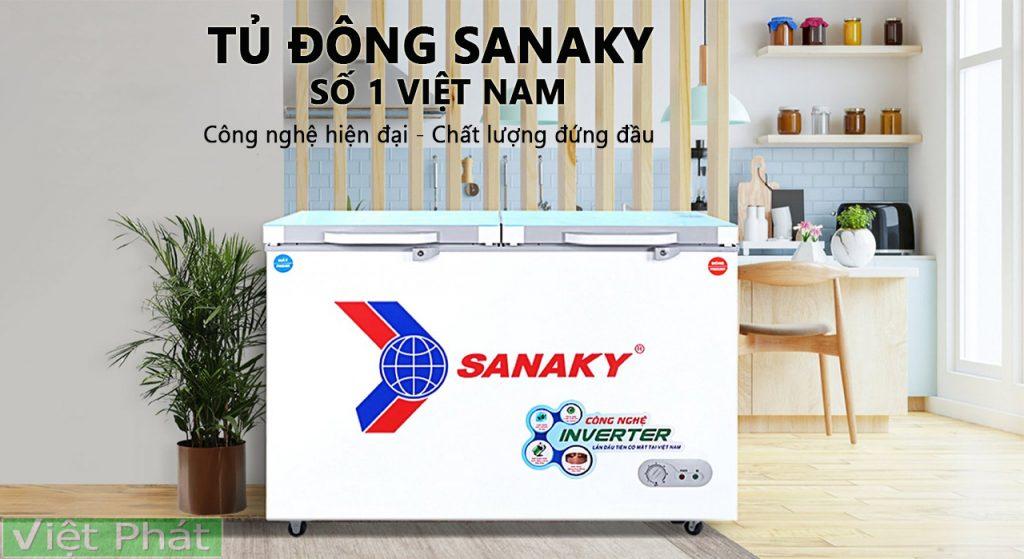 Tủ đông Sanaky số 1 thị trường