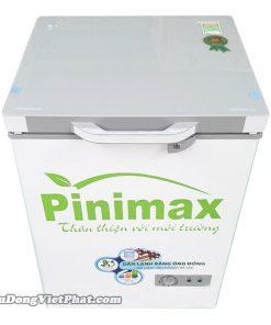 Tủ đông Pinimax PNM-15AF 100L mặt kính xanh