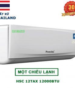 Điều Hòa Funiki HSC 12TAX 12000 BTU 1 chiều
