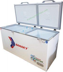 Tủ đông Sanaky 2 chế độ cho nhà hàng quán ăn