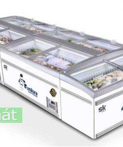 Tủ đông Sumikura SKIF-210SX mặt kính phẳng 800L
