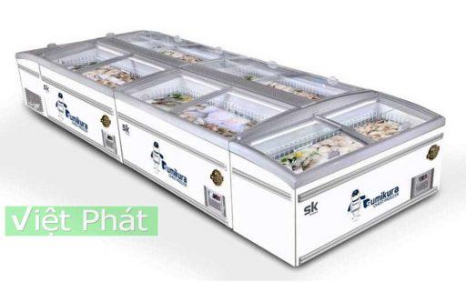 Tủ đông Sumikura SKIF-185SXD mặt kính phẳng 600L