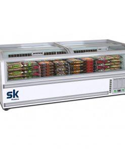 Tủ đông Sumikura SKIF-210SX mặt kính phẳng 900L