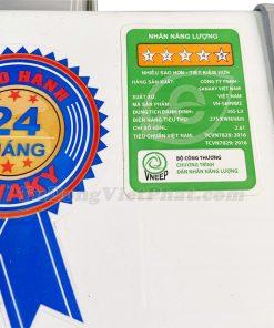 Tủ đông Sanaky VH-5699W3 Inverter 2 ngăn 365L