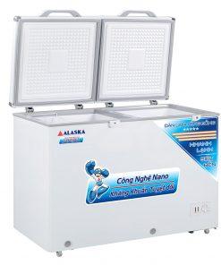 Tủ đông Alaska BCD-3068C 205L 2 ngăn đông mát dàn đồng
