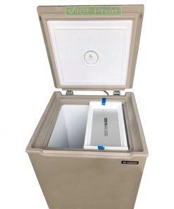 Tủ đông mini Sanden Intercool SNQ-0105+ 100L giảm bám tuyết 80%