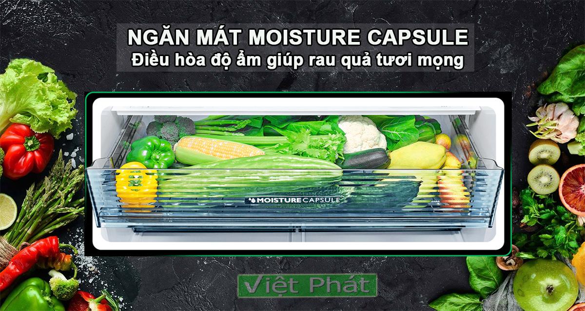 Tủ lạnh Sharp SJ-FXP600VG-BK Moisture Capsule