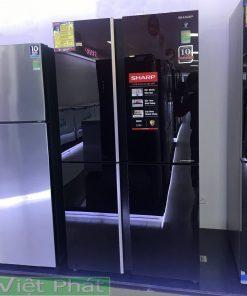 Tủ lạnh Sharp Inverter 520 lít SJ-FXP600VG-BK 4 cửa
