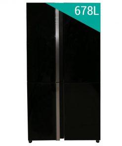 Tủ lạnh Sharp SJ-FX88VG-BK 4 cánh Inverter 678L