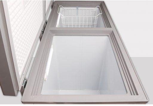 Bên trong tủ đông Darling DMF-4699WSI Inverter 450L 2 ngăn