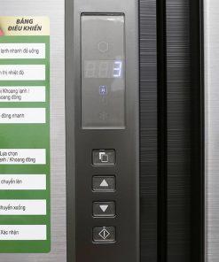 Bảng điều khiển tủ lạnh Sharp Inverter 678 lít SJ-FX680V-ST 4 cửa