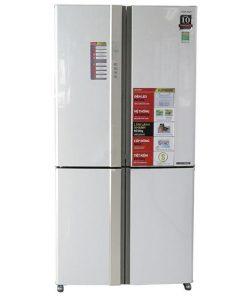 Tủ lạnh Sharp Inverter 678 lít SJ-FX680V-WH 4 cửa