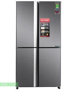 Tủ lạnh Sharp Inverter 525 lít SJ-FX600V-SL 4 cửa