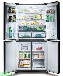 Tủ lạnh Sharp Inverter 639 lít SJ-FX640V-SL 4 cửa