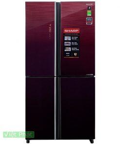 Tủ lạnh Sharp Inverter 639 lít SJ-FXP640VG-MR 4 cửa