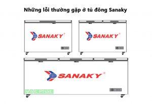 Những lỗi thường gặp ở tủ đông Sanaky và cách khắc phục